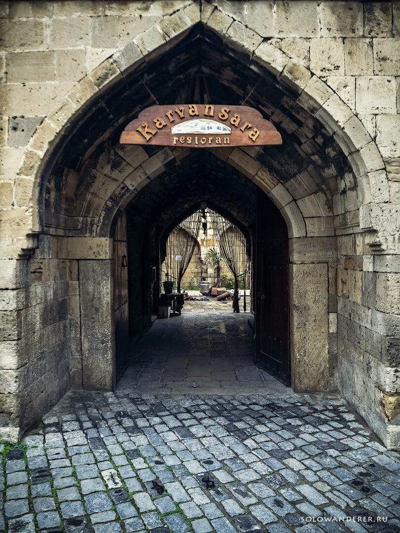 Улицы Баку Азербайджан