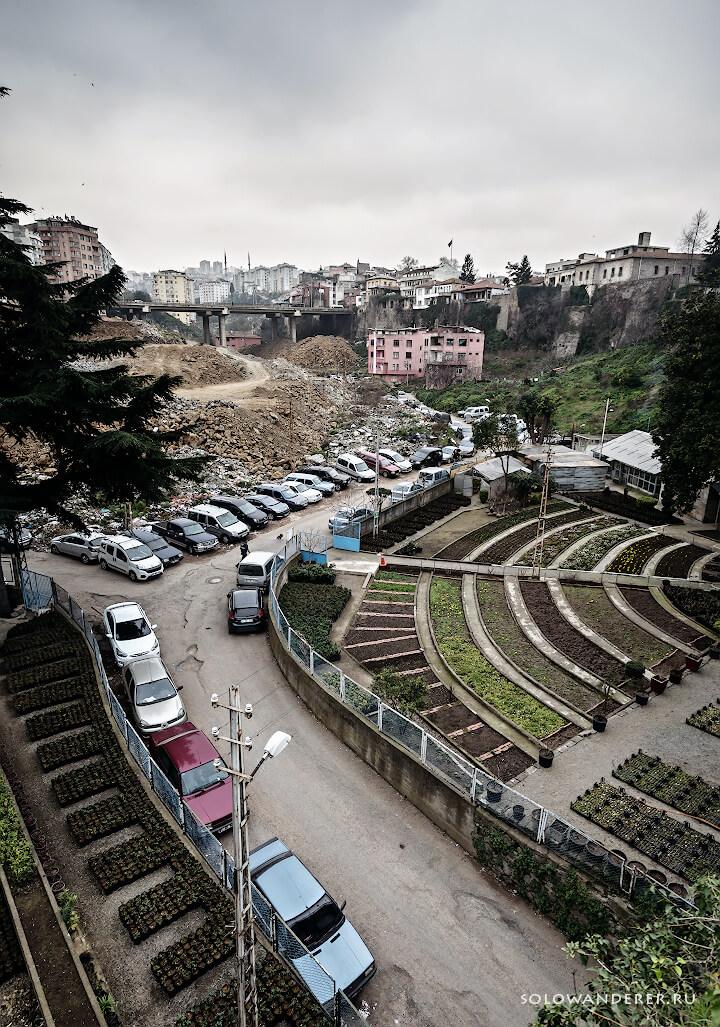Сад в Трабзоне Турция