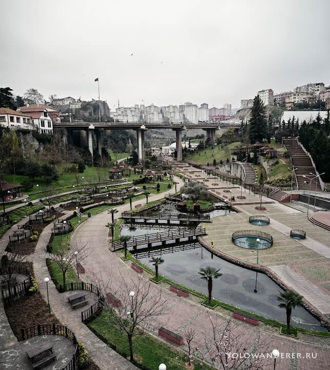 Центральный парк Трабзон Турция