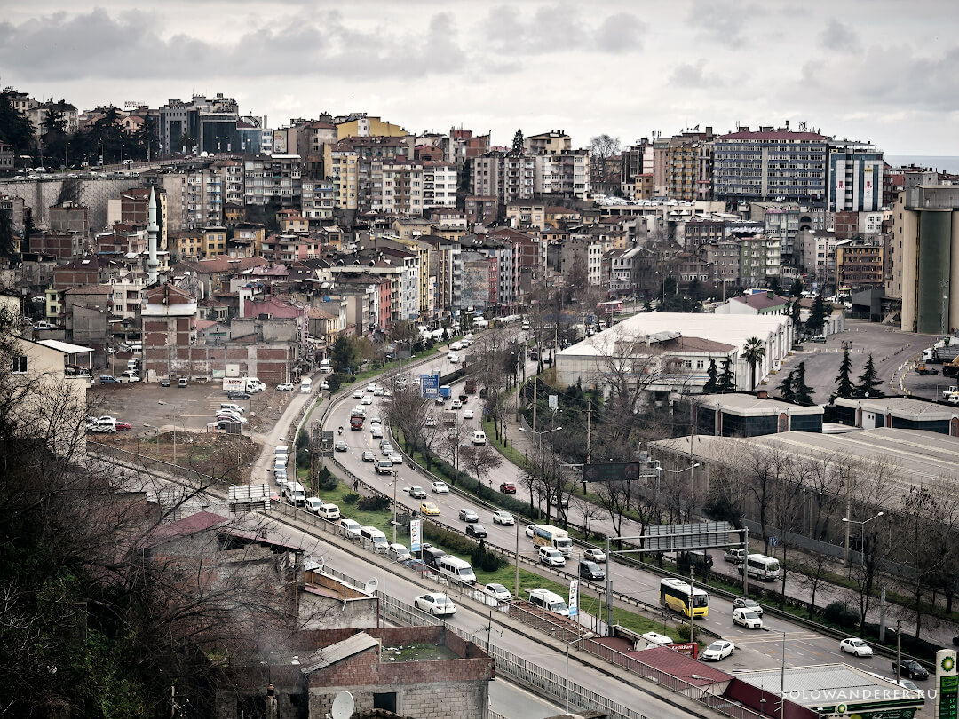 Город Трабзон Турция