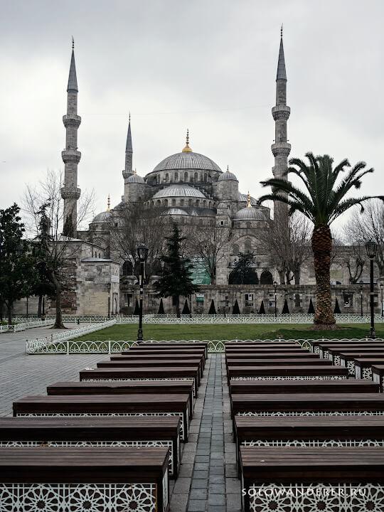 Голубая мечеть Султанахмет Стамбул Турция