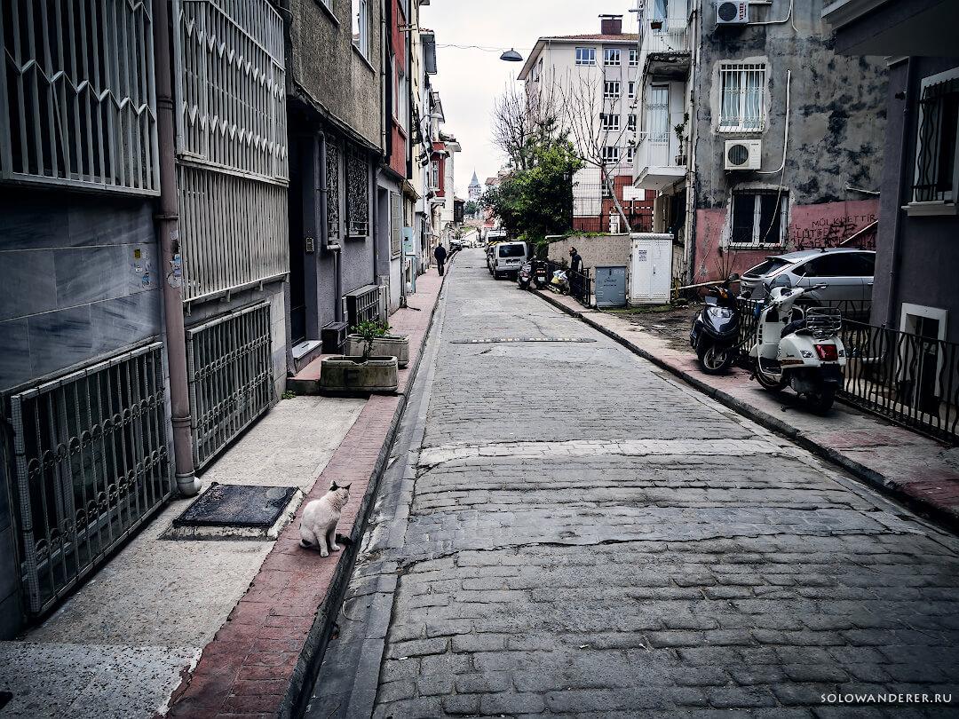 Улицы Стамбула Турция