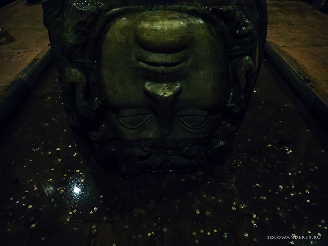 Голова Медузы Горгоны Цистерна Базилика