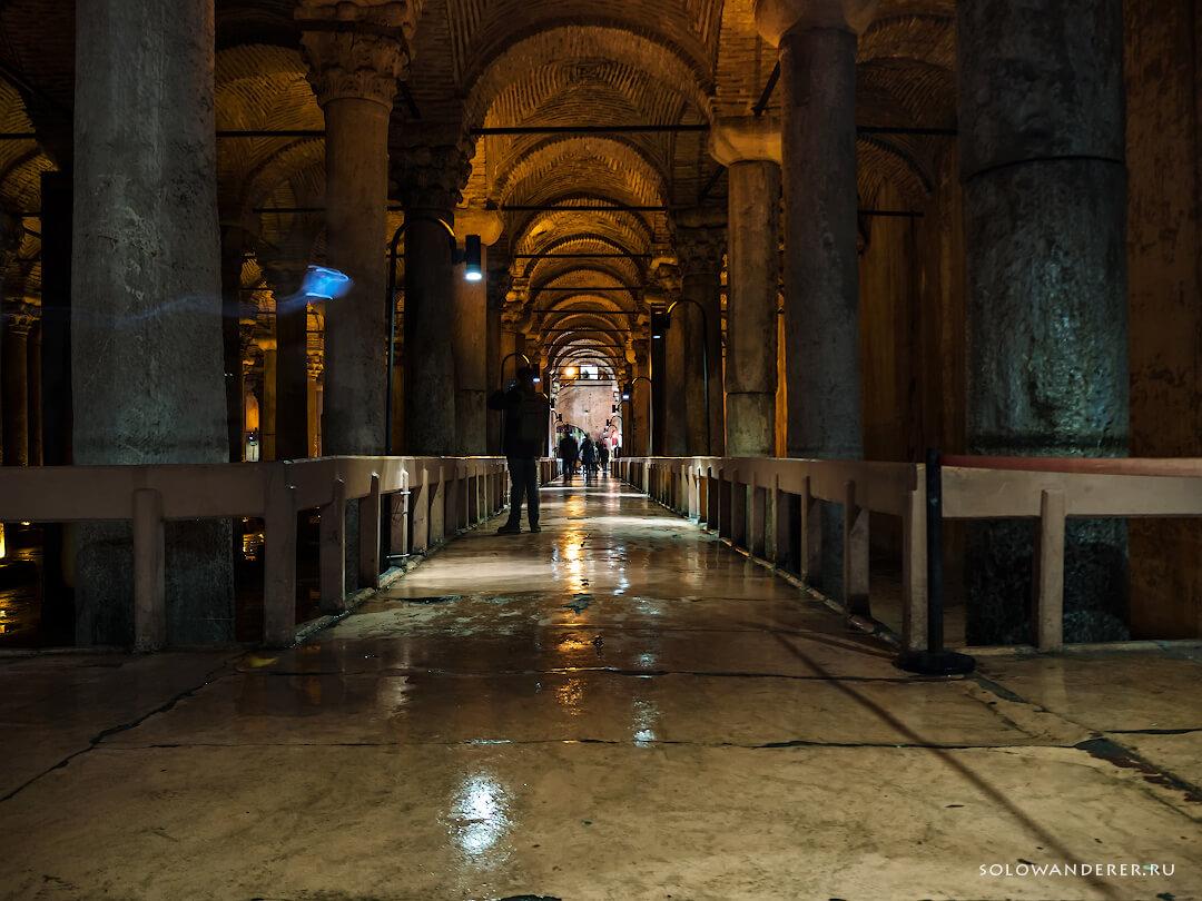 Дорожка Цистерна Базилика