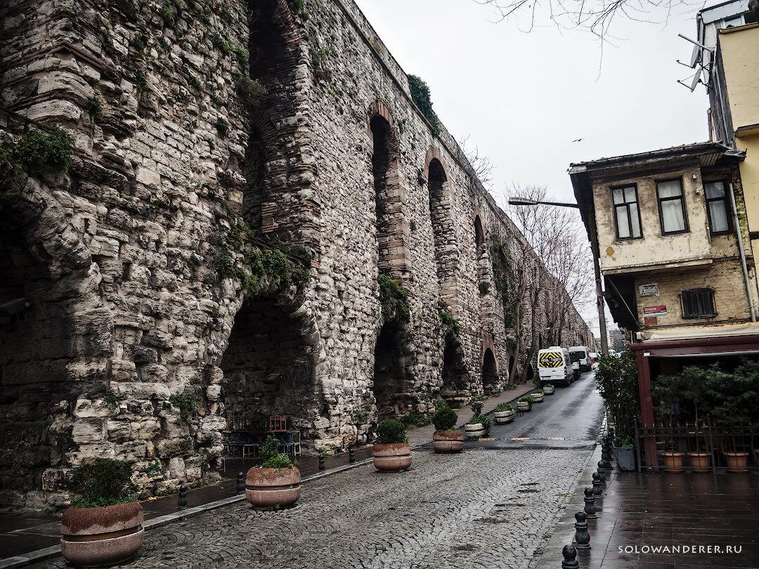 Древние стены Стамбул
